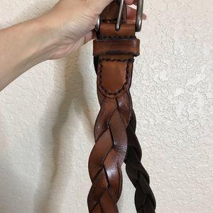 Abercrombie leather belt l/xl